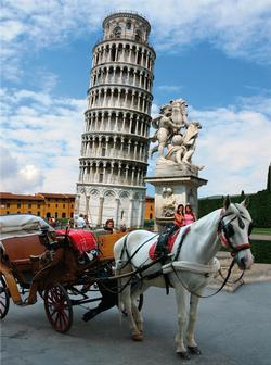 The Tower of Pisa Travel Jigsaw Puzzle