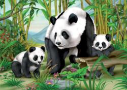 Panda Family Baby Animals Children's Puzzles
