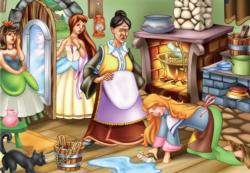 Cinderella's Chores Movies / Books / TV Children's Puzzles