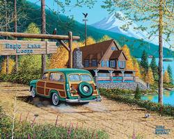 Eagle Lake Lodge Lakes / Rivers / Streams Jigsaw Puzzle