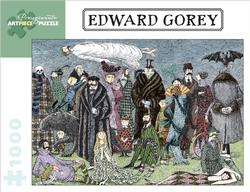 Edward Gorey - Untitled Halloween Jigsaw Puzzle