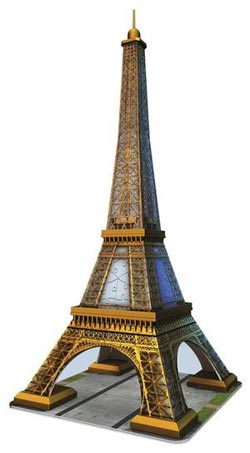 Eiffel Tower 3D Paris Plastic Puzzle