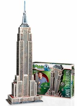 Empire State Building - Scratch and Dent Landmarks Jigsaw Puzzle