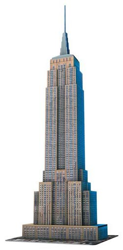 Empire State Building 3D New York 3D Puzzle