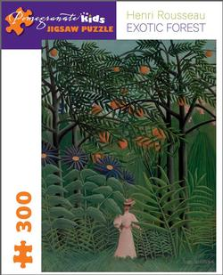 Exotic Forest Contemporary & Modern Art Children's Puzzles