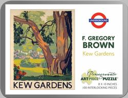 Kew Gardens  Contemporary & Modern Art Miniature Puzzle