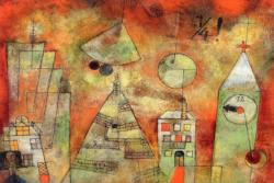 Fateful Hour at Quarter to Twelve by Paul Klee People