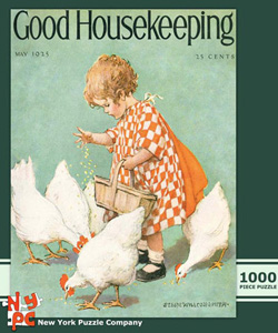 Feeding Time (Good Housekeeping) Magazines and Newspapers Jigsaw Puzzle