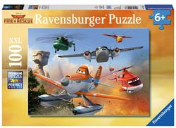 Fighting the Fire Cartoons Children's Puzzles