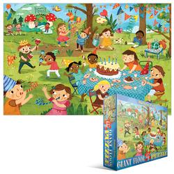 Party Time! Birthday Party Cartoons Jigsaw Puzzle