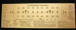 Floorboard Football Game