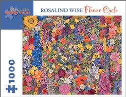 Flower Cycle Contemporary & Modern Art Jigsaw Puzzle