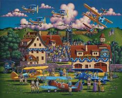 Flying Aces Planes Jigsaw Puzzle