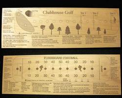 Football / Clubhouse Golf Game (Double Sided)