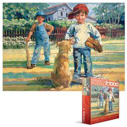 Forever Friends - Lets Play Catch Baseball Jigsaw Puzzle