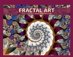 Fractal Art Coloring Book Graphics Coloring Book