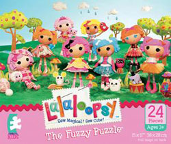 The Lalaloopsies (Fuzzy Puzzle) Quilting & Crafts Jigsaw Puzzle