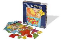 US History Maps Children's Puzzles
