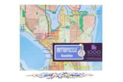 Seattle MetroPuzzle Cities Jigsaw Puzzle