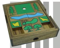 Golf Hole-in-One Premium Golf Brain Teaser