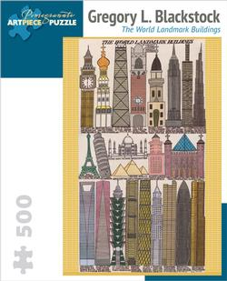 The World Landmark Buildings Graphics Jigsaw Puzzle