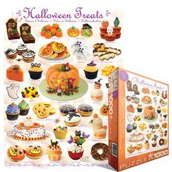 Halloween Treats Pattern / Assortment Jigsaw Puzzle