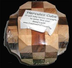 Hercules Cube (Large) Brain Teaser