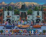 Hollywood Christmas Jigsaw Puzzle