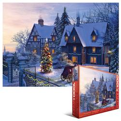 Home for the Holidays - Scratch and Dent Snow Jigsaw Puzzle