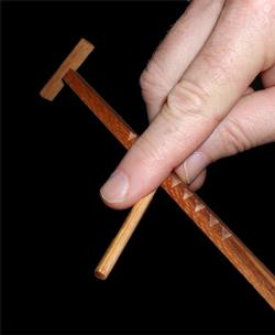Hooey Stick Brain Teaser