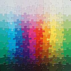 100 Colours Puzzle Graphics / Illustration Impossible Puzzle