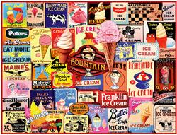Ice Cream Collage - Scratch and Dent Collage Jigsaw Puzzle