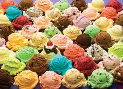 Ice Cream Food and Drink Jigsaw Puzzle