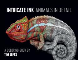 Intricate Ink Animals in Detail Coloring Book Animals Coloring Book