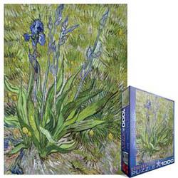 Iris Van Gogh Irises Jigsaw Puzzle