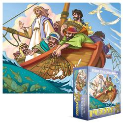 Jesus the Fisherman Fishing Children's Puzzles