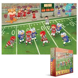 Junior League Football Sports Jigsaw Puzzle