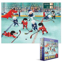Junior League Hockey Sports Jigsaw Puzzle