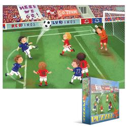 Junior League Soccer Sports Jigsaw Puzzle