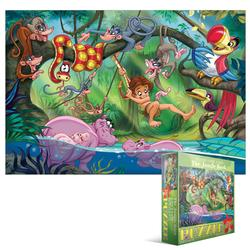 The Jungle Book (Kids Classic Fairy Tales ) Jungle Animals Jigsaw Puzzle