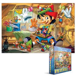 Kids Classic Fairy Tales - Pinocchio Cartoons Children's Puzzles
