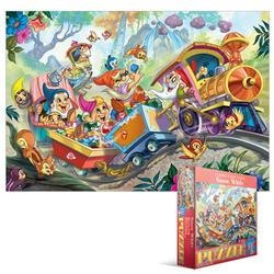 Snow White (Kids Classic Fairy Tales ) Cartoons Children's Puzzles
