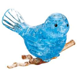 Blue Bird Birds Crystal Puzzle