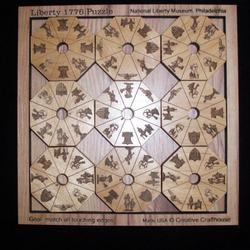 Liberty 1776 Puzzle Brain Teaser