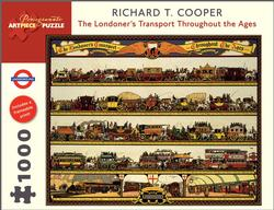 The Londoner's Transport Throughout the Ages Vehicles Jigsaw Puzzle
