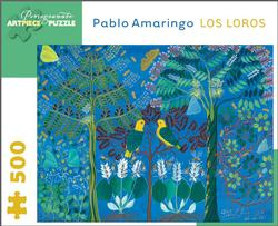 Los Loros Contemporary & Modern Art Jigsaw Puzzle
