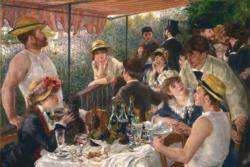 Luncheon at the Boating Party by Pierre-Auguste Renoir People