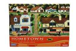 Hometown Collection - Main Street Cambria Jigsaw Puzzle
