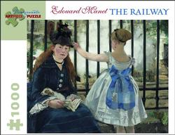 The Railway Impressionism Jigsaw Puzzle