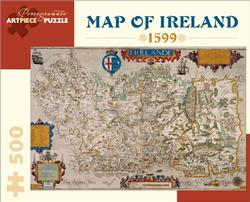 Map of Ireland Europe Jigsaw Puzzle